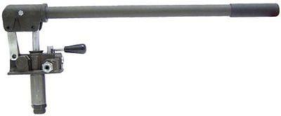 Hydraulische Handpumpe, doppelwirkend, für Anhänger und Kipper, 310 bar