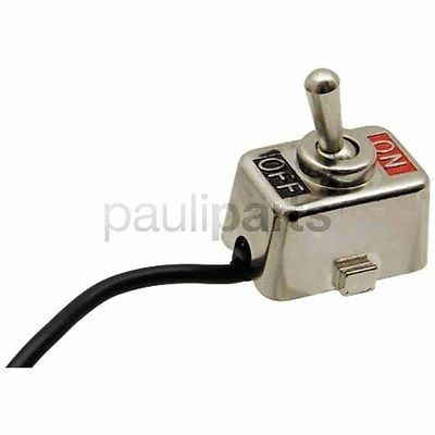 Universal Stoppschalter, Schalter, Ein/Aus Kippschalter, Kabellänge 1220 mm