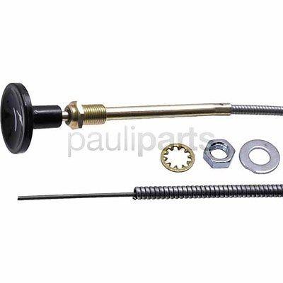 Push & Pull Bowdenzüge, Hüllenlänge 2560 mm, Gesamtlänge 2650 mm, universal