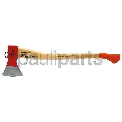 Holzaxt, Axt, Hickory, Kopfgewicht 1250 g, Länge 700 mm, Stiellänge 700 m