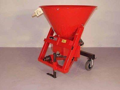 Tellerstreuer, Streugerät f. Grillo GF-2,  0,5 - 4,0 Meter 55 Liter Neuware