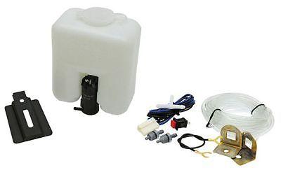 Universal Scheibenwaschanlage 12 V, 1,5 l Behälter mit Kabel, Schlauch, Düsen