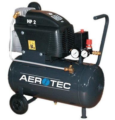 AEROTEC Druckluft Kompressor 220-24 FC, Kolbenkompressor, 24 Liter, 8 bar