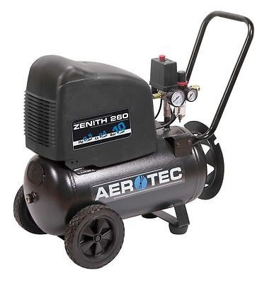 AEROTEC Druckluft Kompressor Zenith 260 PRO, Kolbenkompressor, 24 Liter, 10 bar