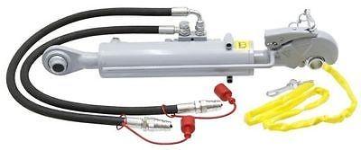Hydraulischer Oberlenker, Kat. 2, CBM Fanghaken, Hub 280 mm, Sperrblock seitlich