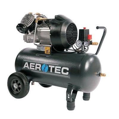 AEROTEC Druckluft Kompressor 400-50, Kolbenkompressor, 50 Liter, 10 bar