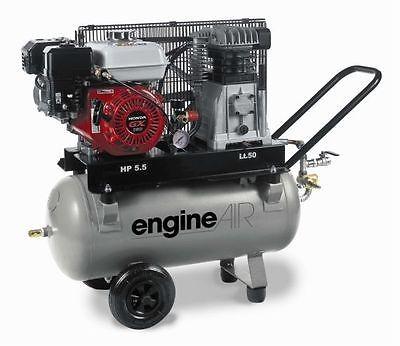 AEROTEC Druckluft Kompressor 600-50, Benzin Kolbenkompressor, 50 Liter 10 bar
