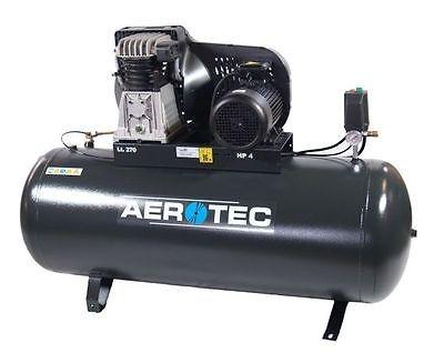 AEROTEC Druckluft Kompressor B49-270 FT, Kolbenkompressor, 270 Liter 10 bar 400V