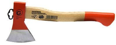 Handbeil, Beil, 600 g, 360 mm, geschmiedet, Hickory Stiel, Profiqualität