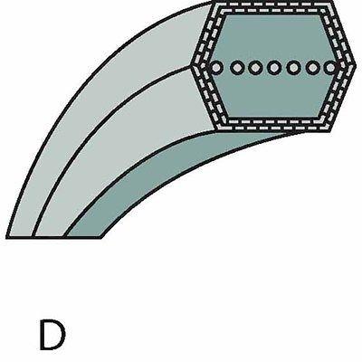 Snapper Keilriemen, Mähwerkantrieb, Maße 12,7x1810, 7010749YP, 7010749, 1-0749
