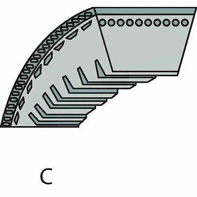 Viking Keilriemen, Fahrantrieb, Maße 9,7 x 872 Lp, MB 253.0 T, 6371 704 2100