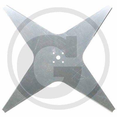 Ambrogio Rasenmäher Messer Ersatzmesser für L 300, 355 mm, 4-Zahn, 300D004202