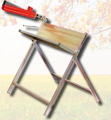 Sägebock Metallsägebock für Motorsäge, Kettensägebock, Kaminholz Sägehilfe