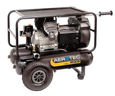 AEROTEC Druckluft Kompressor, GVM 11+11, Montagekompressor, 2 x 11 Liter, 10 bar
