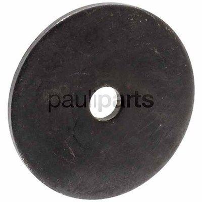 Universal Gleitscheibe, Scheibe, Außendurchm. 57 mm, Innendurchm. 9,52 mm