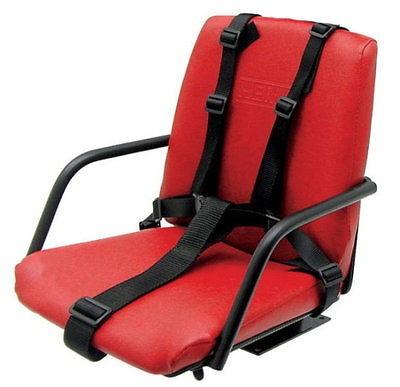 Kinder Schleppersitz, Kindersitz für Schlepper, Traktor, gefedert, 5-Punkt Gurt