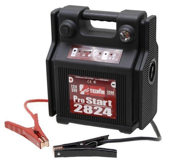 TELWIN Batteriestarter, Ladegerät, Startgerät, Pro Start 2824, 12V - 24V, 44Ah