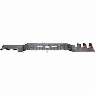 Messer f. Rasenmäher, Länge 457 mm, Zentralbohrung 25,4 mm, Außenloch 9,5x38 mm