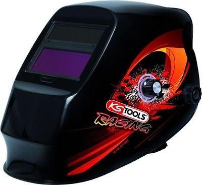 KS-TOOLS 310.0180 Automatischer Schweißer Schutzhelm, Racing Design