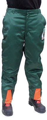 Schnittschutz Bundhose Schnittschutzhose EN 381 Form A FPA anerkannt Größe: 46