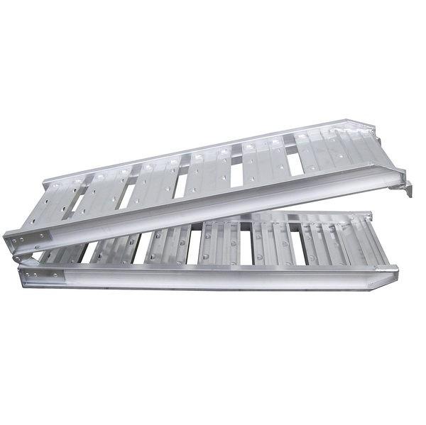 Sprossen- Auffahrschiene - Stahl, Länge 1800mm, Breite 220mm, 205 kg/Stück
