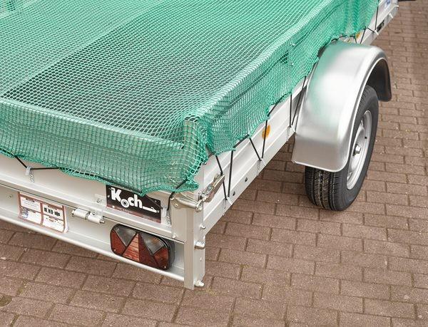 Pkw-Anhänger-Gepäcknetz, Maschenweite 45 mm, max. 3,0 x 4,0 Meter