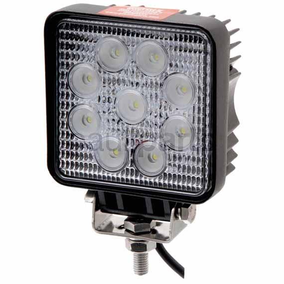 Arbeitsscheinwerfer LED, Scheinwerfer, 10 - 30 V, 14 W, 108 x 108 x 55 mm, M8