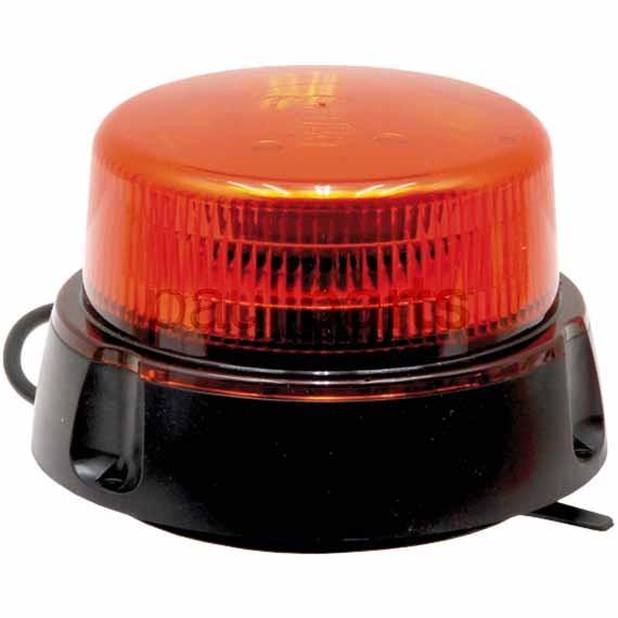 Rundumkennleuchte LED, 12/24 V mit 12 LEDs, max. 14 Watt, mit Magnetfuß