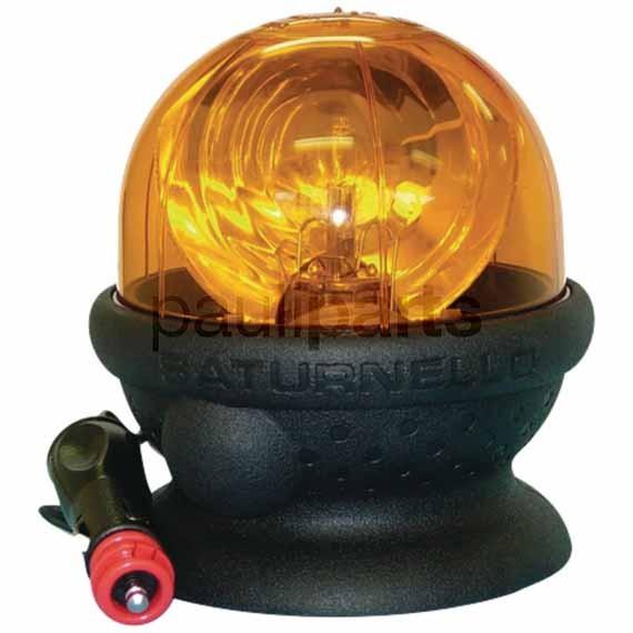 SACEX Rundumkennleuchte, Saturnello, 12/24 Volt ohne Glühbirne, Höhe: 145 mm