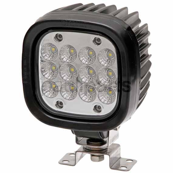 Arbeitsscheinwerfer LED 5000, Scheinwerfer, 12-33 V, 60 W, 110 x 110 x 85 mm
