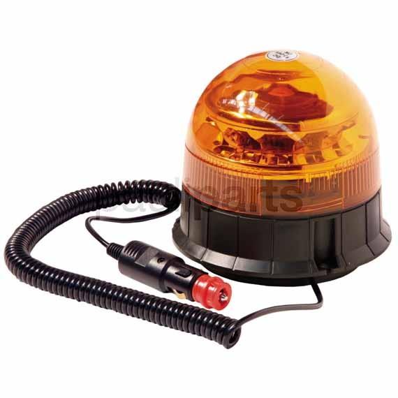SACEX Rundumkennleuchte LED, 12 V, mit 12 weißen LEDs a 3 Watt, H: 140 mm