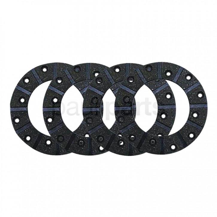 Bremsbelagsatz Fußbremse ,3134668R3,für Case, D 436,439, 323, 353, 383