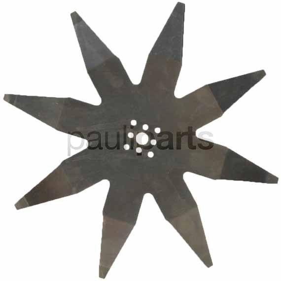 Ambrogio Rasenmäher Messer Ersatzmesser für L 400, 220 mm, 8-Zahn, 200Z05100A