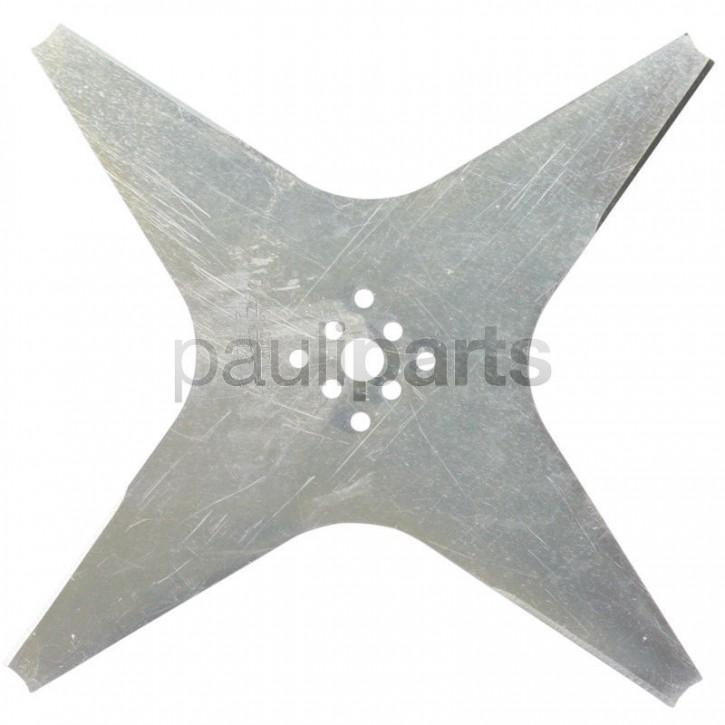 Ambrogio Rasenmäher Messer Ersatzmesser für L 200, 220 mm, 4-Zahn, CSD0155
