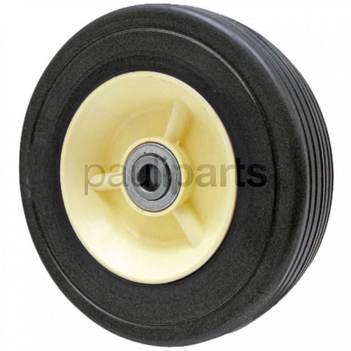 Rad m. Stahlfelge, Radbreite 38 mm, Nabenlänge 35 mm, Achsen-Durchmesser 12,7 mm