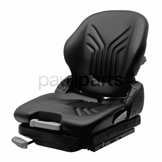 Grammer Stapler Sitz MSG 65/521 Primo M, mechanisch gefedert Kompaktsitz PVC