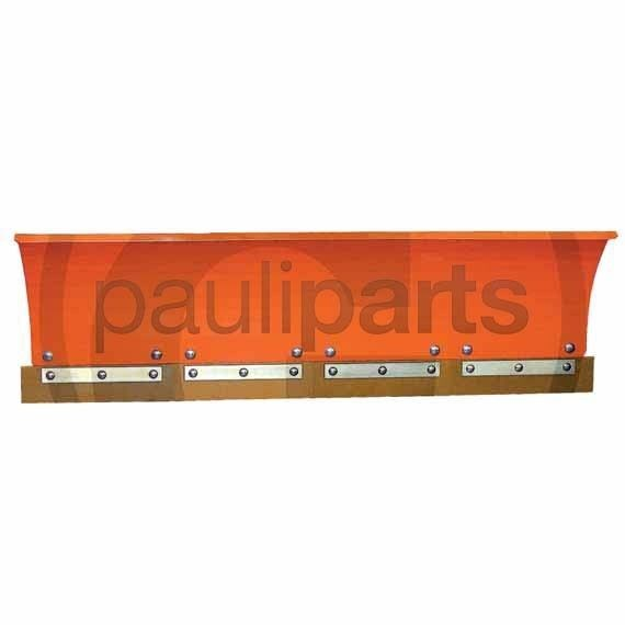 Schürfleiste aus Polyurethan, Härte 80°, Länge 450 mm, Höhe 97 mm, 6 Bohrungen