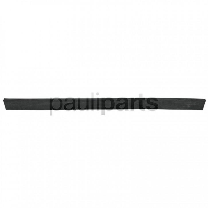Schürfleiste aus Gummi ohne Gewebeeinlage, Länge 1250 mm, Höhe 80 mm