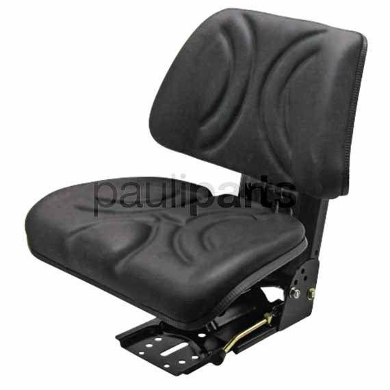 Sitz, mechanisch gefedert PVC Schleppersitz für Stapler Schlepper Landmaschinen