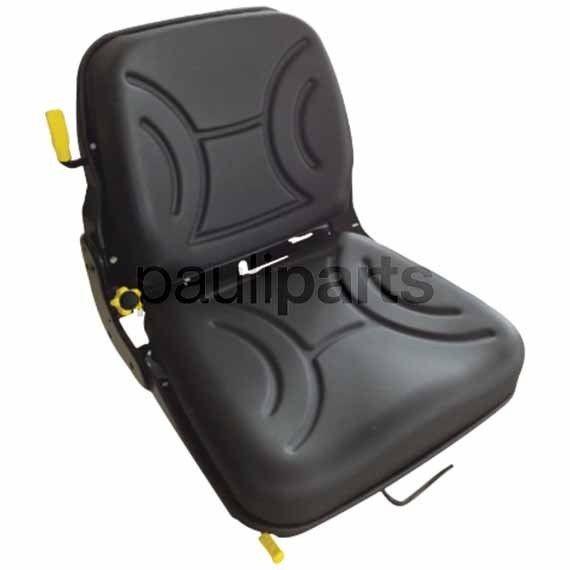 Sitz, mechanisch gefedert, universal, mit Sicherheitsschalter, Stapler Schlepper