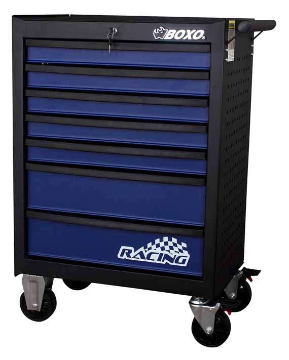 BOXO Werkstattwagen, Werkzeugwagen 7 Schubladen 40 Kg