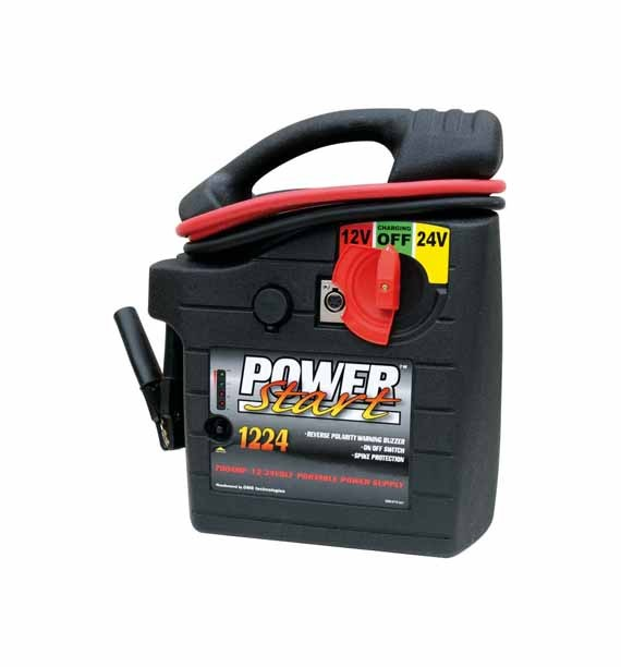 Powerstart Starthilfe, Ladegerät, Booster, Jump Starter 12 / 24 V 1200 A