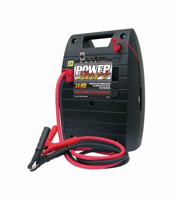 Powerstart Starthilfe, Ladegerät, Booster, Jump Starter 24 V 1100 A