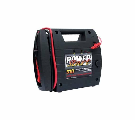 Powerstart Starthilfe, Ladegerät, Booster, Jump Starter 12 V. 510 A
