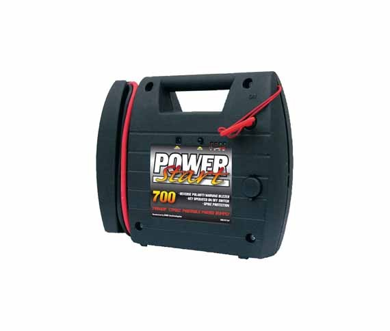 Powerstart Starthilfe, Ladegerät, Booster, Jump Starter 12 V. 700 A