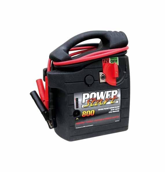 Powerstart Starthilfe, Ladegerät, Booster, Jump Starter 12 V. 800 A