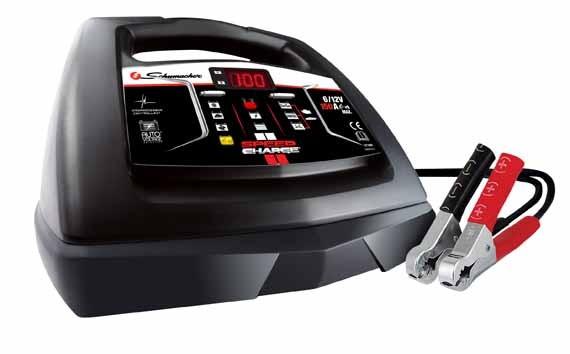 Automatisches Ladegerät. Batterieladegerät, Batterie Lader 6 - 12 V