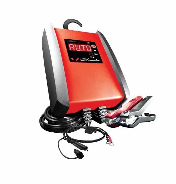 Automatisches Ladegerät. Batterieladegerät, Batterie Lader 12 V 10 A