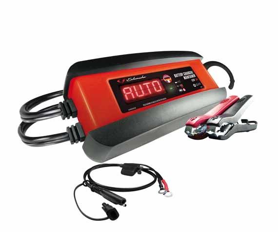 Automatisches Ladegerät. Batterieladegerät, Batterie Lader 12 V 3 A