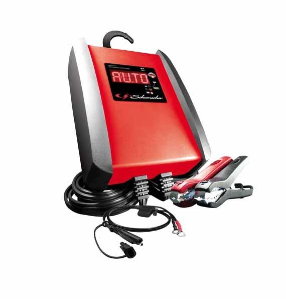 Automatisches Ladegerät. Batterieladegerät, Batterie Lader 12 V 6 A